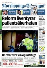 Prenumerera 90 nummer av Norrköpings Tidningar
