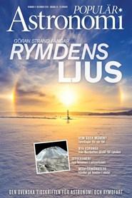 Prenumerera 5 nummer av Populär Astronomi