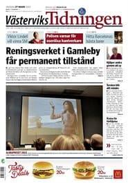 Prenumerera 90 nummer av Västerviks Tidningen