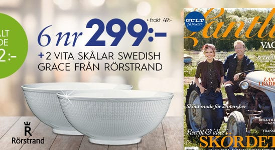 lantliv swedish grace
