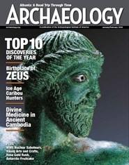Prenumerera 6 nummer av Archaeology Magazine