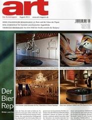 Prenumerera 12 nummer av Art-das Kunstmagazin