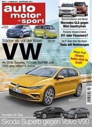Prenumerera 26 nummer av Auto Motor Und Sport (German Edition)