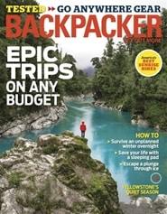 Prenumerera 10 nummer av Backpacker