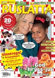 Prenumerera 3 nummer av Buslätta Korsord