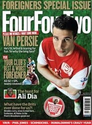 Prenumerera 12 nummer av Four Four Two (UK Edition)