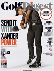 Prenumerera 11 nummer av Golf Digest (US Edition)