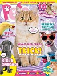 Prenumerera 4 nummer av Pets