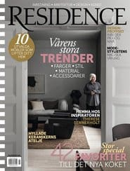 Prenumerera 5 nummer av Residence
