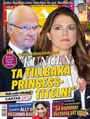 Prenumerera 13 nummer av Svensk Damtidning