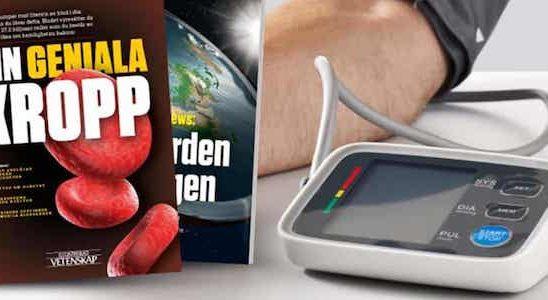Vetenskap-Digital-blodtrycksmätare-premie
