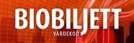 biobiljett värdekod
