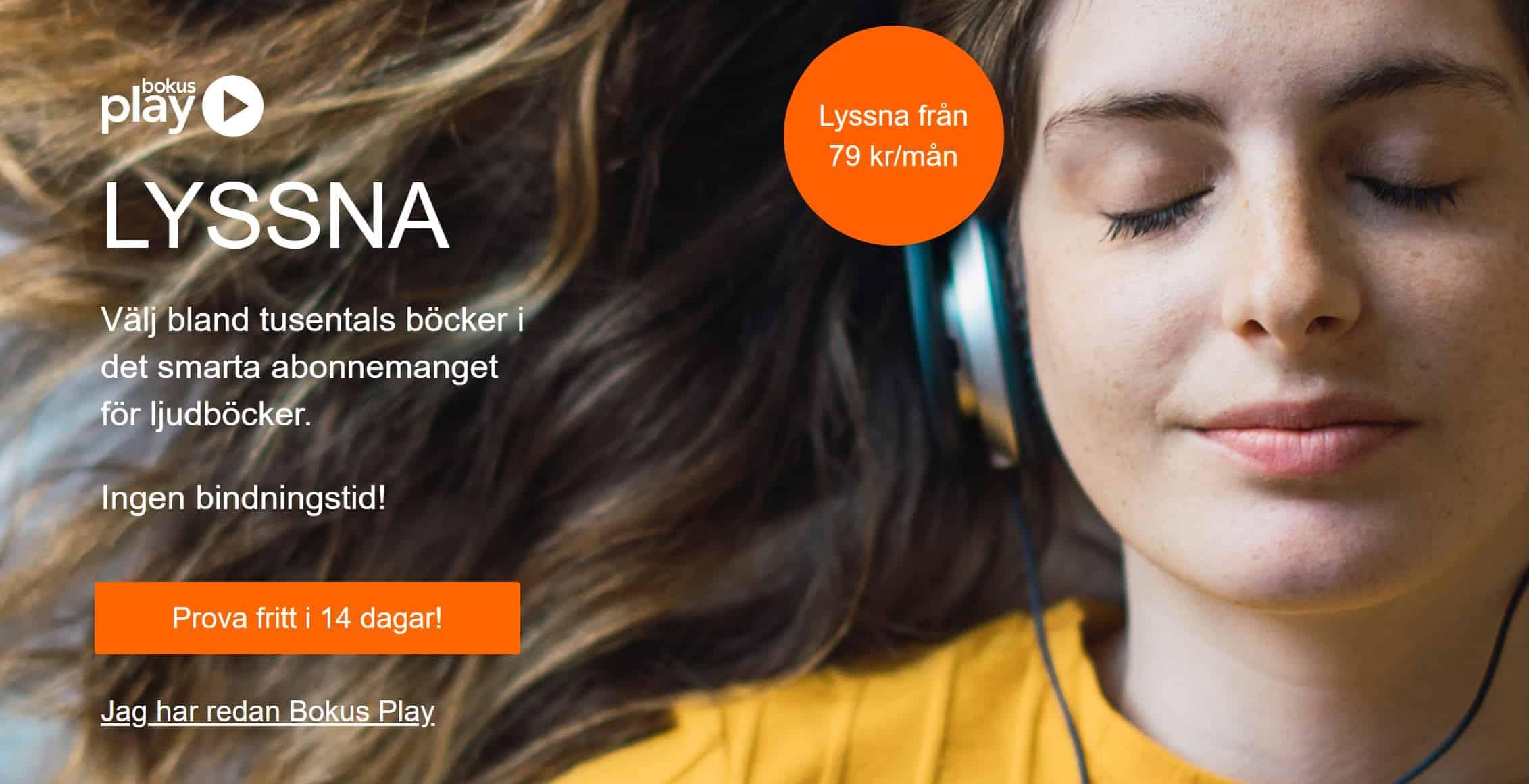 Testa Bokus Play GRATIS 30 dagar