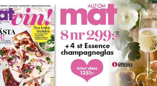 allt om mat champagne