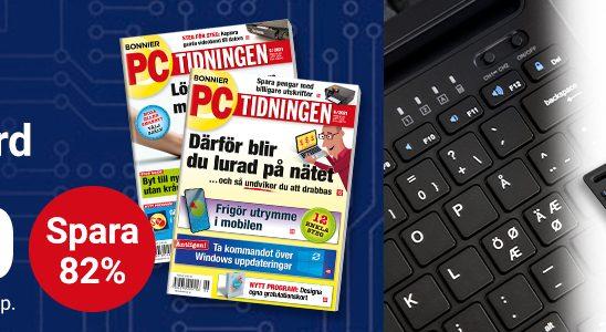 PC-tidningen bluetooth-tangentbord